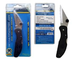 24 Units of Knife Multi-Function - Tool Sets