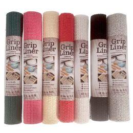 48 Units of Grip Liner Assorted Colors - Bath Mats