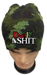 36 Units of Don't Ask Me 4 Shit Camo Winter hat - Winter Beanie Hats