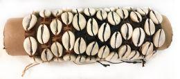96 Units of Adjustable Size Faux Leather Bracelet With Shells - Bracelets