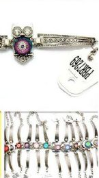96 Units of Metal Bracelet With Animal Shape - Bracelets