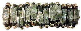 96 Units of Faux Leather Zodiac Bracelet Assorted - Bracelets