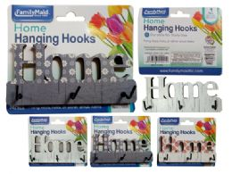 144 Units of Welcome Hanging Hooks 3pc - Hooks