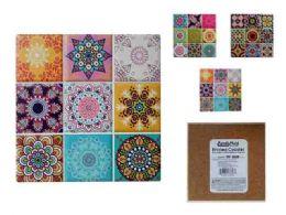 72 Units of Printed Coaster Sq - Coasters & Trivets