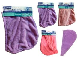144 Units of Shower Hair Wrap Towel - Shower Accessories
