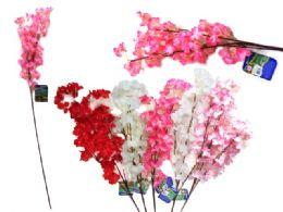 96 Units of Cherry Blossom Flower Bouquet - Artificial Flowers