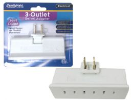144 Units of Etl Outlet Adapter Swivel - Electrical