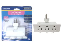 96 Units of Outlet Swivel Adapter - Electrical