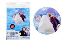 36 Units of 13.5 Inch Frozen Beach Ball - Beach Toys