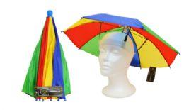 36 Units of Umbrella Hat - Umbrellas & Rain Gear