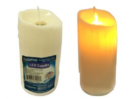 144 Units of Led Flameless Flickering Candle - Candles & Accessories
