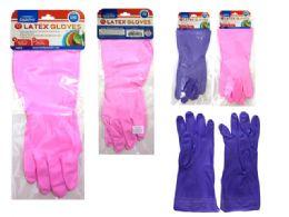 144 Units of Gloves Latex - Kitchen Gloves