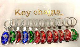 96 Units of Zodiac Sign Keychain - Key Chains