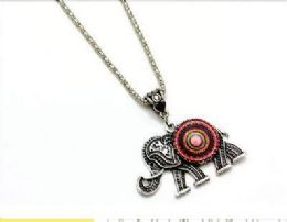 96 Units of Elephant Psychedelic Necklace - Necklace