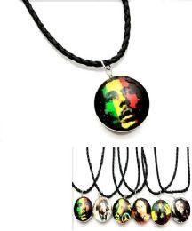 96 Units of BOB Marley Pendant Necklace - Necklace