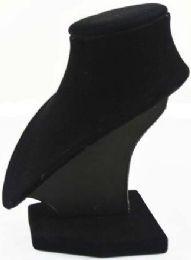 12 Units of Black Velvet Jewelry Display Necklaces Neck Forms - Jewelry Box