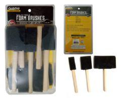 96 Units of Foam Brushes - Paint, Brushes & Finger Paint