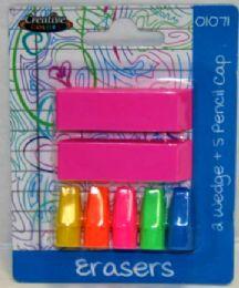 48 Units of Eraser Pack - Erasers