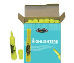 144 Units of Highlighters - Markers and Highlighters