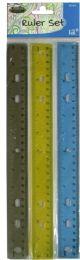 48 Units of Plastic Ruler Set - Rulers