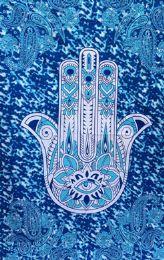 5 Units of Hamas Paisley Turquoise - Home Decor