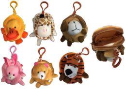 120 Units of Assorted Stuffed Animal Keychain - Key Chains
