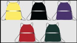 144 Units of Drawstring Bag - Draw String & Sling Packs