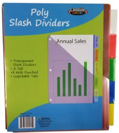 48 Units of Index Dividers - Dividers & Index Cards