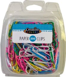 96 Units of Paper Clips - Clips and Fasteners