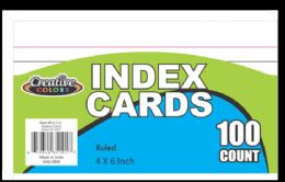 72 Units of Index Cards - Labels ,Cards and Index Cards