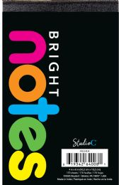 24 Units of Bright Notes - Note Books & Writing Pads