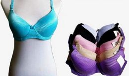 72 Units of Solid Color Bra - Womens Bras And Bra Sets