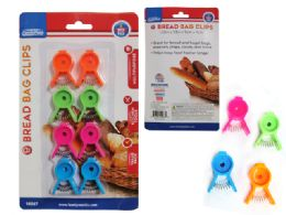 96 Units of Bread Bag Clips - Clips and Fasteners