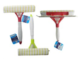 24 Units of Squeegee With Spray Container - Auto Cleaning Supplies