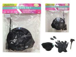 72 Units of Hair Dye Set 6pc - Hair Accessories