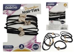 288 Units of 6pc Hair Ties - PonyTail Holders