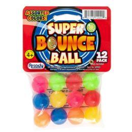 24 Units of Mini Super Bounce Balls - 12 Piece Set - Balls
