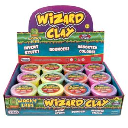 36 Units of Wizard Clay - Slime & Squishees