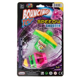 36 Units of Light-up LED Bouncing Top - Light Up Toys