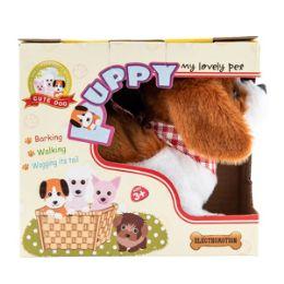 48 Units of Plush Walking Puppy With Sound - Plush Toys