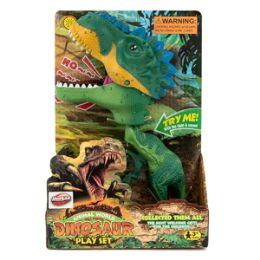 12 Units of Light-up Dinosaur with Sound - Action Figures & Robots