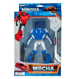 12 Units of Mecha Showdown Transforming Robot - Action Figures & Robots