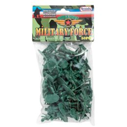 36 Units of Military Force Soldiers - 50 Piece Set - Action Figures & Robots