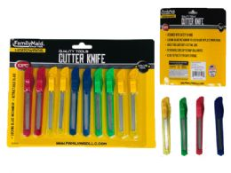 96 Units of Cutter Knife 10pc - Hardware Gear