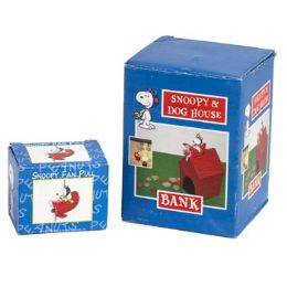 48 Units of Snoopy & Dog House Bank Litho Boxed - Coin Holders & Banks