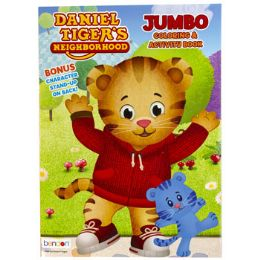 24 Units of Coloring Book Daniel Tiger In 24pc Display Box - Coloring & Activity Books