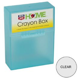 56 Units of Crayon Box Assorted Colors Holds 24 Crayons - Rite Aid - Crayon