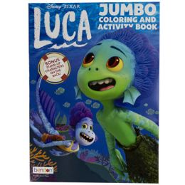 24 Units of Coloring Book Disney Luca In 24pc Display Box - Coloring & Activity Books