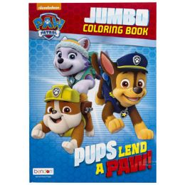 24 Units of Coloring Book Paw Patrol Pups Lend A Paw In 24pc Dsply bx - Coloring & Activity Books