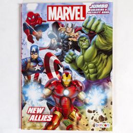 24 Units of Coloring Book Marvel New Allies In 24pc Display - Coloring & Activity Books